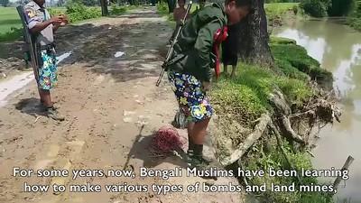 Bengali Muslim Landmine, Disarmed Before Disaster