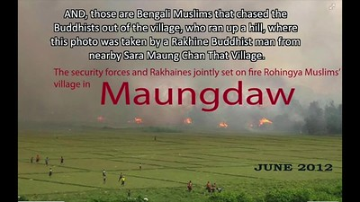 Maungdaw Madness - 3 Episodes of Violence by the Bengali Muslims (so-called Rohingya)