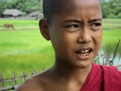 A YOUNG MONK, A BOY, AND A MOTHER SPEAK OF HORRORS