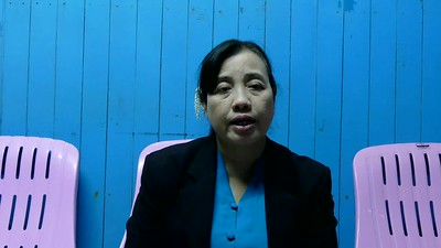 SAW MRA RAZA LIN - A LEADING RAKHINE WOMAN SPEAKS