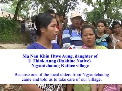 PEOPLE OF RAKHINE STATE SPEAK OF THE HORRORS BENGALI MUSLIMS ARE INFLICTING UPON BUDDHISTS, HINDUS, AND TRIBAL MINORITIES