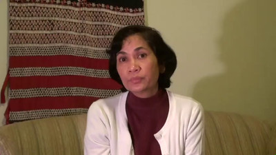 A LADY FROM MAUNGDAW SPEAKS OF 2012, AND HER PERSONAL HISTORY