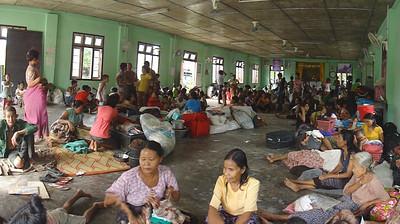 Refugees in monasteries 3