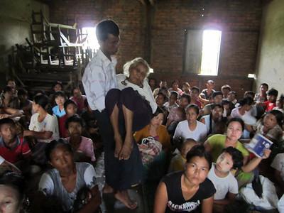 Refugees in monasteries 90