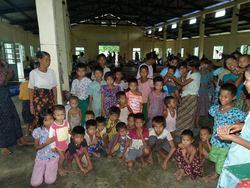 Refugees in monasteries 86