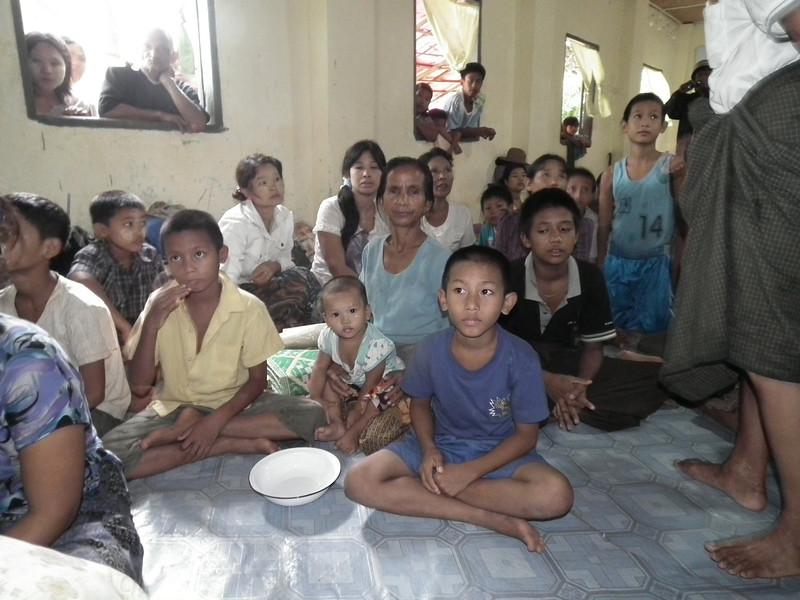 Refugees in monasteries 105