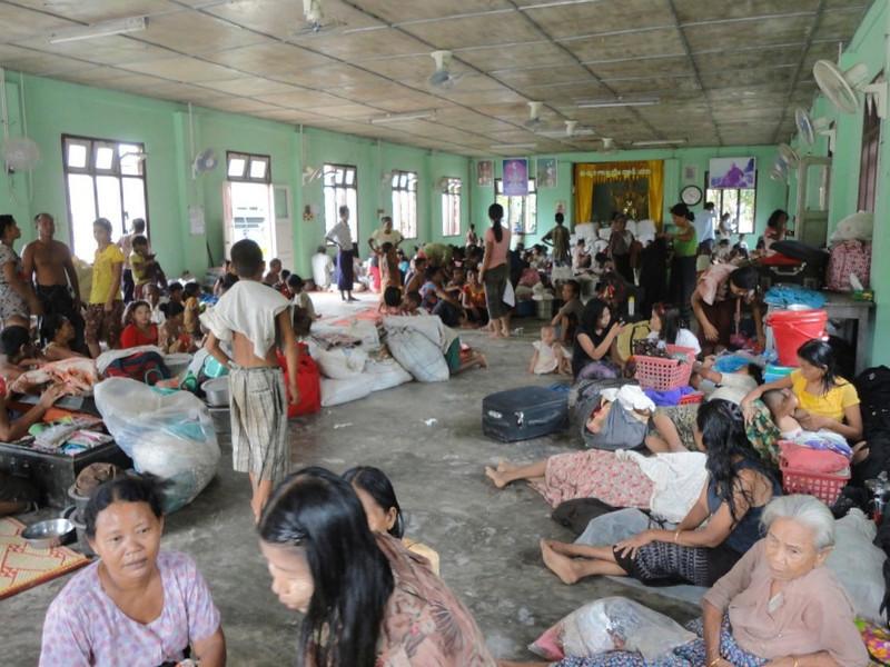 Refugees in monasteries 6