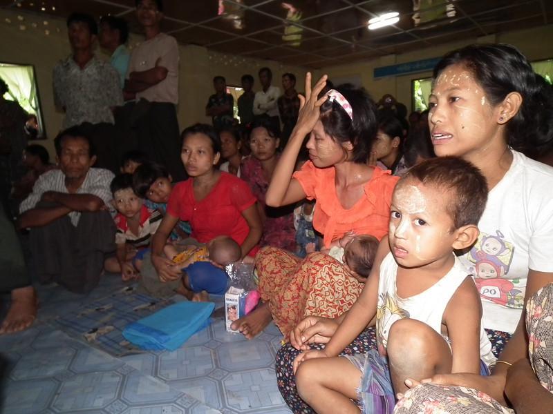 Refugees in monasteries 91