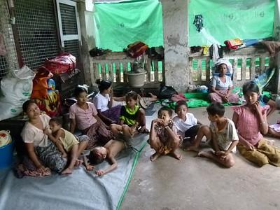 Refugees in monasteries 121