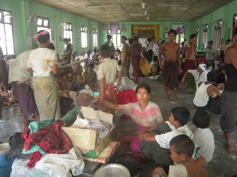 Refugees in monasteries 8