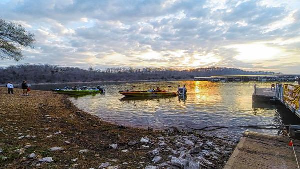 Sunrise on Beaver Lake
