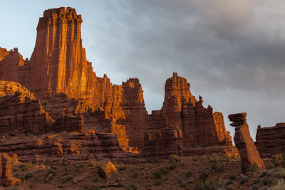 FISHER TOWERS, ALONG THE COLORADO RIVER