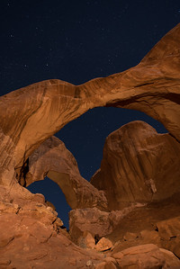 DOUBLE ARCH, ARCHES NATL PARK