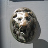 """Letter """"Slot"""" through mouth of Lion."""