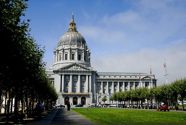 HISTORIC CITY HALL, SAN FRANCISCO, CALIFORNIA