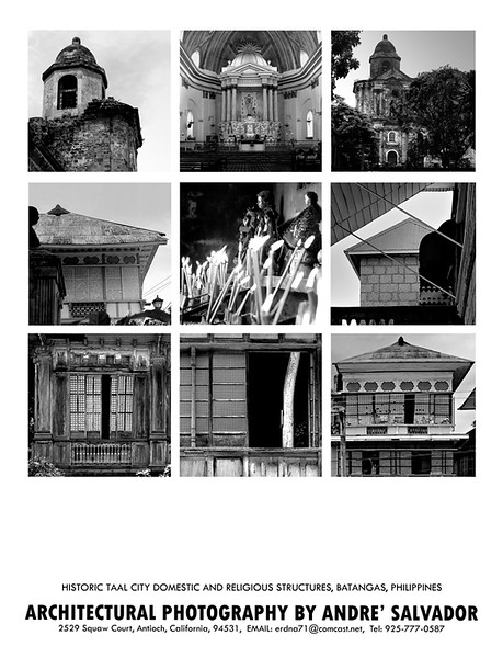 This is a poster I did for the Pilipino architect who is spearheading the movement to restore the historical houses in Taal. Poster may be purchased by emailing me at erdna71@comcast.net