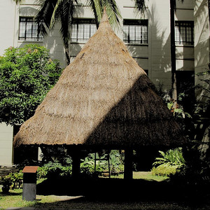 IFUGAO HOUSE, MOUNTAIN PROVINCE, PHILIPPINES