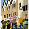 The first four blocks of Pine Street from Ocean Avenue is for businesses, theatres, shops and restaurants.