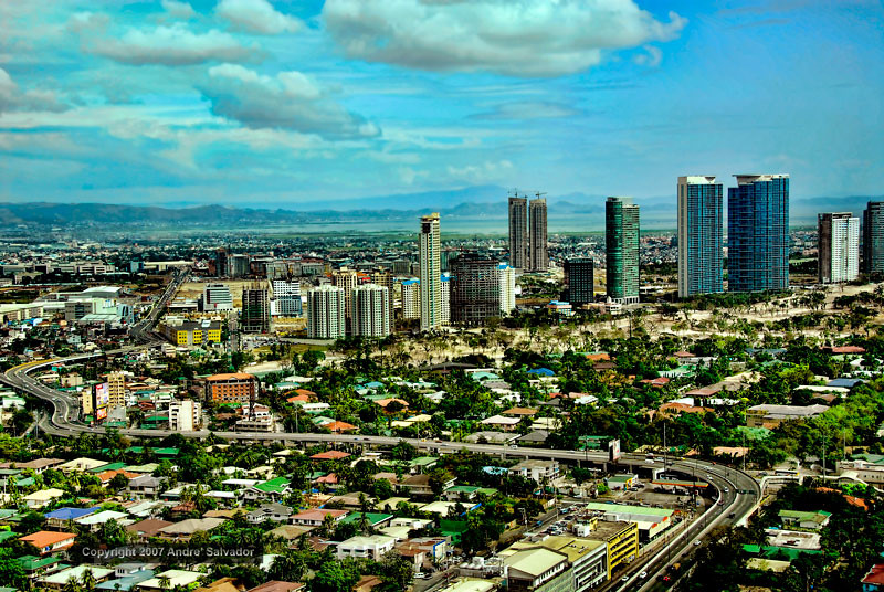A view of Makati and Fort Bonifacio community.