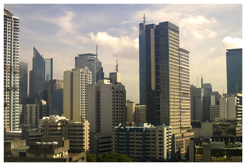 Another view of Makati skyline.