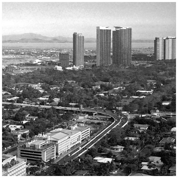 A view of the Fort Bonifacio Condominium Development.