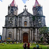 The Church of St. Anne, looms above the old Chinese district of Molo. Its towering gothic design distinguishes it from the typical baroque-influenced churches in the country.