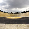 The Panathinaikon Stadium or Kallimarmaron Stadium is the Old Olympic Stadium in Athens. This modern Stadium was built between 1869 and 1870 for the first Olympic Games held in modern times in 1896. This marble stadium structure was built by Herodes Atticus.