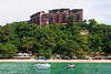 A view of a beach front condominium at Punta Fuego at Terrazza, Batangas, Philippines.