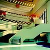 An interior view of Scarborough Civic Center, Architect: Raymond Moriyama