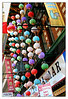 "This photo was taken at Grant street near the Chinese gateway pagoda. Those colorful lanterns caught my eyes. This area is a colorful fusion of a Chinese market town and American main street. The Chinatown in San Francisco is a very densely populated 24 block core bounded ny Broadway Street, Montgomery, California and Powell Street. You must walk San Francisco's Chinatown to fully experience Chinatown's vibrant and intense character.  <FONT size""-5"">Information taken from sfchinatown.com</FONT>"