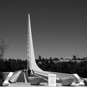 SUNDIAL BRIDGE, REDDING, CALIFORNIA
