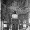 This is the side door at the right side of the Pantheon.