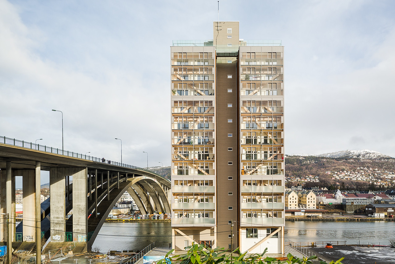 World's tallest timber building, Bergen