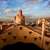 La Pedrera  ( Casa Mila ) - Antoni Gaudi<br /> Barcelone