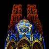 La Cathédrale de Laon habillée par les « Couleurs d'été »