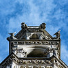 Sommet de la tour nord de la façade de la cathédrale  (détail)