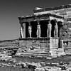 L'Érechthéion : le portique des Caryatides