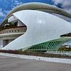 Palacio de las Artes Reina Sofía<br /> Architecte Santiago Calatrava<br /> Ciudad de las Artes y las Ciencias <br /> Valencia ( Espagne )