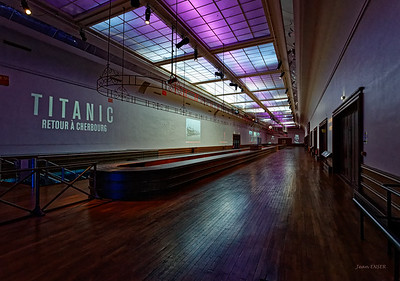 Gare Maritime de Cherbourg - Salle des bagages