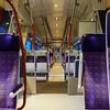 Speed train interior, travel concept