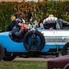 September 15, 2017. Gresswiller, Bas-Rhin, France.  34th Festival Bugatti in Alsace. Beautiful retro cars.
