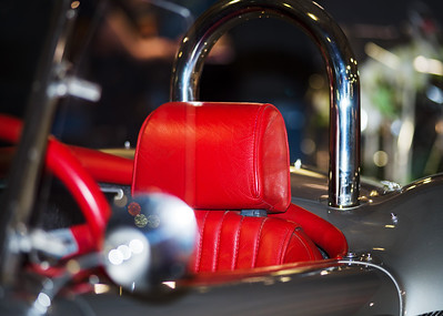 Vintage luxury car details, speed and beauty, retro design