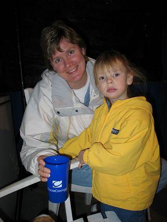 Customer Appreciation Oyster Roast @ Gold Bug Island, Friday, February 18, 2005