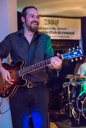 Northsyde at Crawdaddy Club Jan 2016