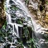 Beautiful waterfall in austrian Alps