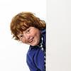 Freckled red-hair boy