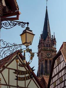 Clair de Nuit festival in Dambach-la-ville, Alsace