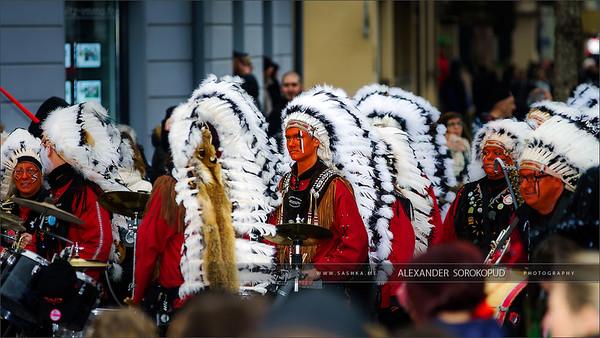 Editorial,14st February 2016: Selestat, France: Carnival and par