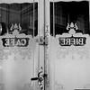 Classic Paris cafe entrance