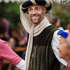 Editorial: 9th June 2019: Chatenois, France. Fancy-dress medieval carnival under fortress walls.